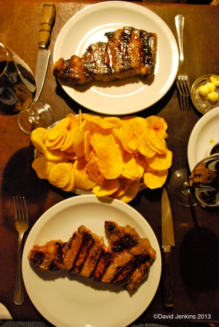 Steak Dinner at Don Julio, Palermo Viejo