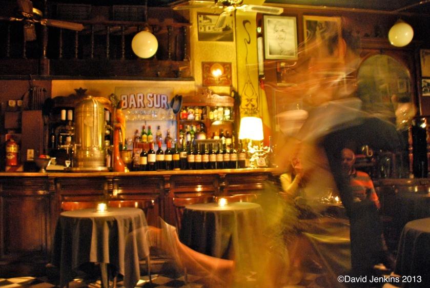 Tango Show at Bar Sur, Buenos Aires