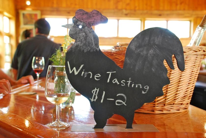 Wine Tasting at The Grange