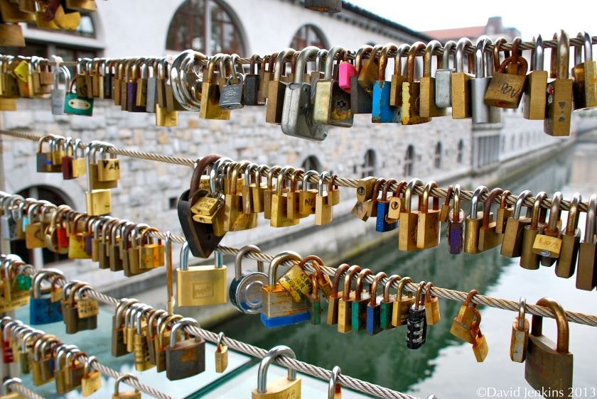 Key Locks on Butcher's Bridge