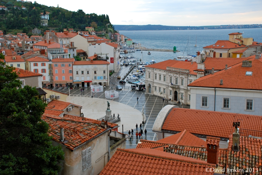 View of Piran's Waterfront