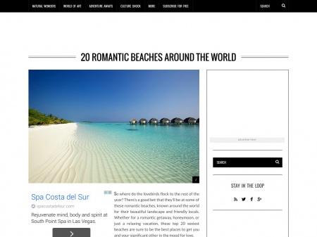 1. Ipanema Beach/Photo via: Lucia's Travels/©David Jenkins 2013