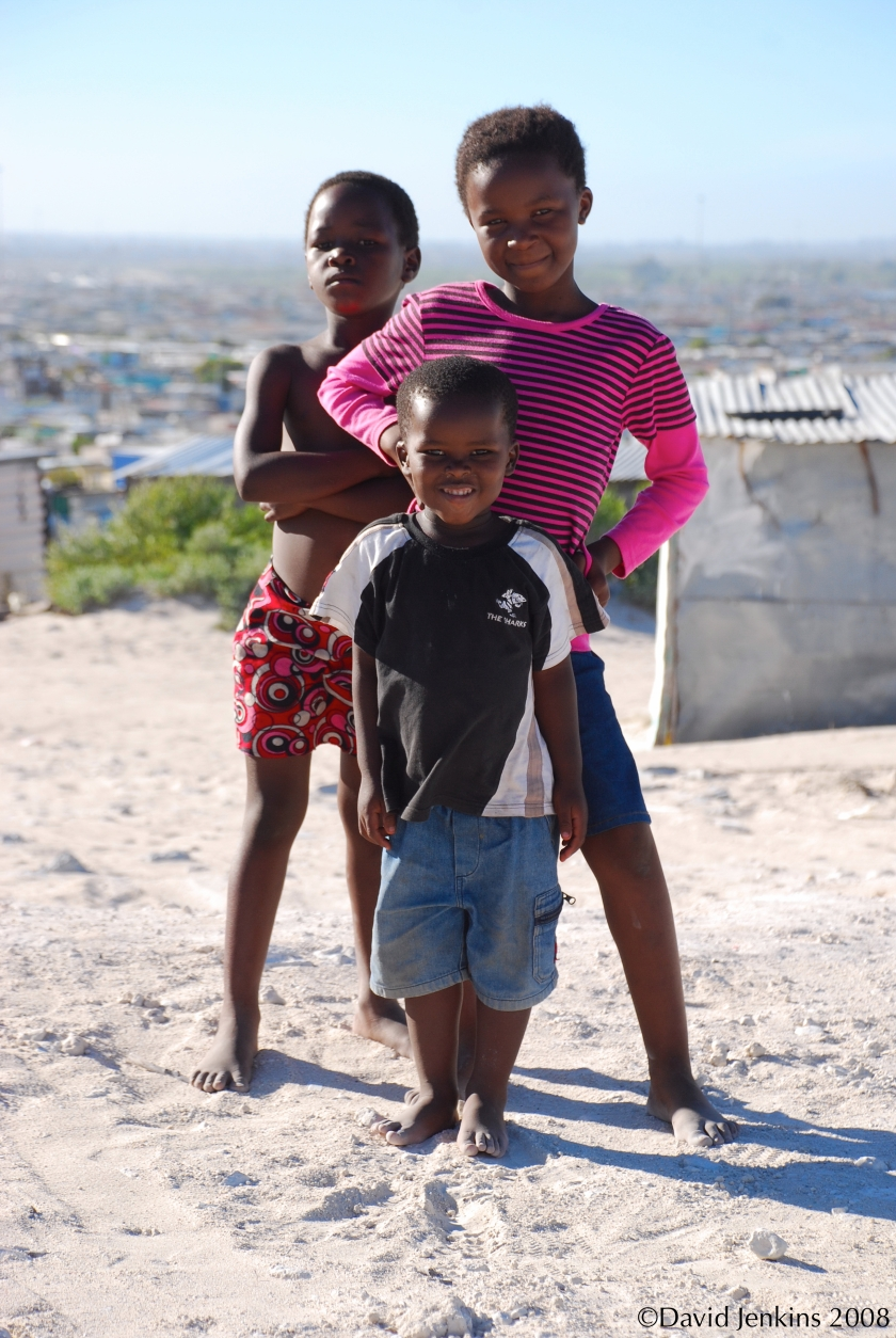 Kids in Cape Town, South Africa
