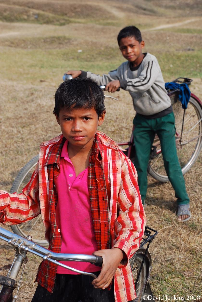 Portrait of Boys in Nepal