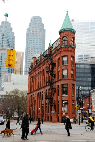 Gooderham Building on Wellington Street East