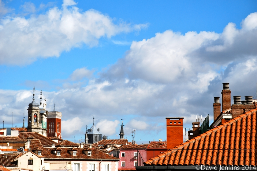 Rooftop, Madrid